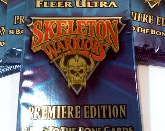 Skeleton Warriors Trading Cards