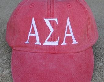 Alpha Sigma Alpha baseball cap