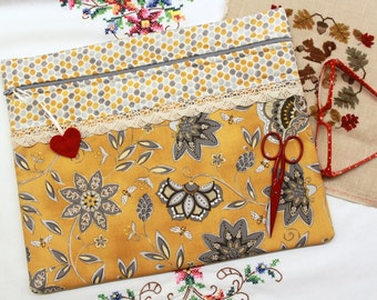 Bee Creative Cross Stitch, Sewing, Embroidery Project Bag