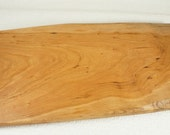 Rustic Footed Cherry Cutting Board, Serving Tray, Sushi Tray, Medium Cutting Board, Footed Cheese Board,