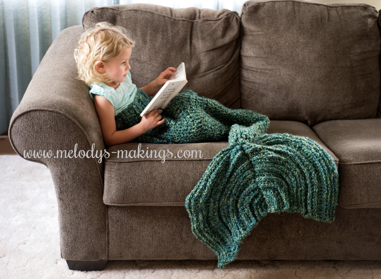 Child mermaid tail blanket crochet pattern mermaid tail zoom bankloansurffo Choice Image