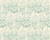 KNIT, Pug Ville Vert, Joie de Vivre Collection, Bari J, Art Gallery Fabrics, Stretchy Fabric