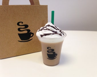 "18"" Doll Food Frozen Coffee To-Go Drink Beverage"