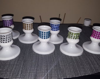 Sweet 16 tapered candle holders for lighting  ceremony