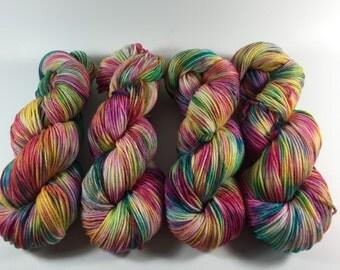 Merino Superwash Worsted, Hand Dyed Yarn, Pause to Ponder, worsted weight, superwash merino