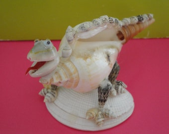 Sea Shell Seashell Canarium Shell Dinosaur Figurine