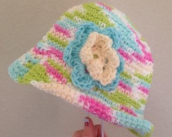 Girls Sunhat or Easter Hat