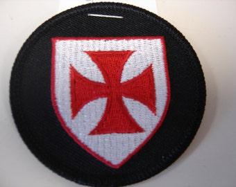 Knights Templar Shield Patch