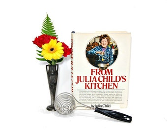 1977 From Julia Childs Kitchen 1970s PBS TV The French Chef Julia Child Cookbooks Learn To Cook Julias Recipes Bon Appetit