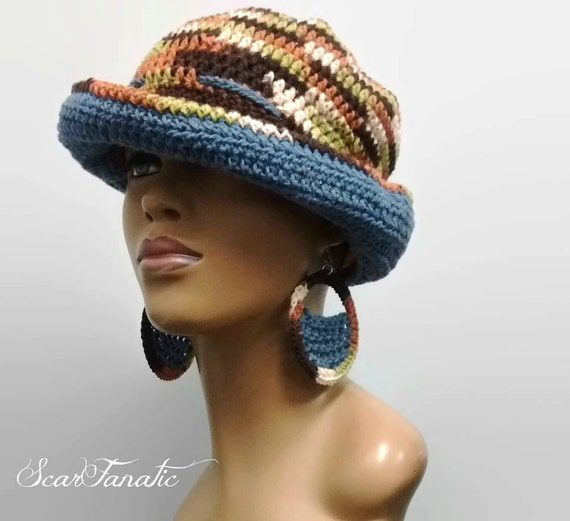 PATTERN ONLY Easy Crochet Sun Hat/ Cloche/ Sailor Hat/ Fedora/