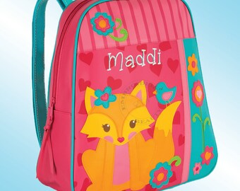 Backpack - Personalized and Embroidered - Go Go Bag - FOX
