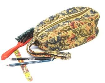 Tapestry Travel Make Up Bag