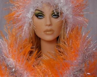 """for 16"""" Doll crochet OOAK Grass Set """"Mango"""" - Tonner Sybarite Gene - AllforDoll STYLE"""