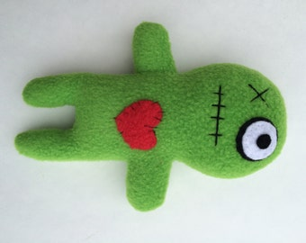 Voodoo Doll Dog Toy - Pea Green