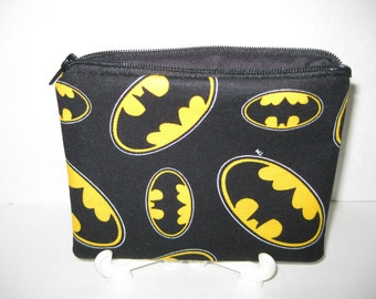 Batman Super Hero Zipper Pouch