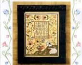Sheepish Designs: Ewe Alone - 114th Exemplary Cross Stitch Pattern