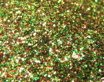 solvent resistant glitter .008 hex 14 grams / half ounce bag by ...