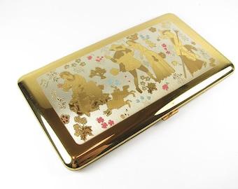 Vintage Cigarette Case, Wadsworth. Business Card Holder, Made in the USA - Le Cas de Cigarettes.