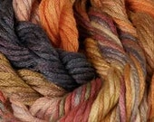 197 Monsoon & 245 Porcelain Hand-dyed counted cross stitch silk embroidery floss : Caron Collection Waterlillies thecottageneedle