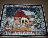 Barnyard Christmas Quilt