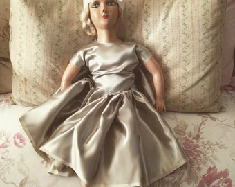 Vintage Shabby Boudoir Doll