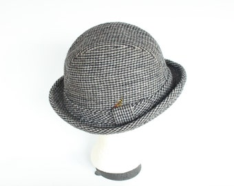 Vintage Country Gentleman Gray Wool Fedora