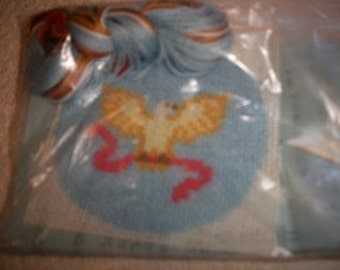 1776 Cross Stitch Mini Kit: Comes with Fabric, Floss & Directions