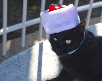 Christmas Sale Personalized Custom Pet Santa Hat Customized initial cat dog santa costume elf christmas accessory pet cute adorable fleece h
