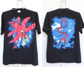 The Cure Wish Tour T Shirt Mens Extra Large XL Unisex Womens True Vintage 90s 1990s Concert Plus Size Over Sized Bird Eye