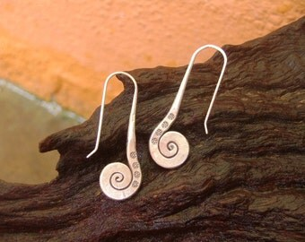Silver Tribal Earrings - The Silver Pin(5)