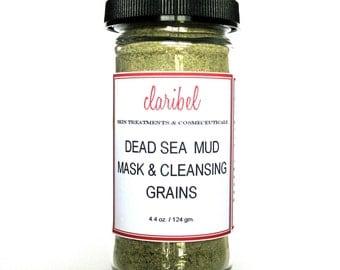 Mud Mask | Dead Sea Mud Mask & Cleansing Grains | Detox Mask | Anti Aging Mask