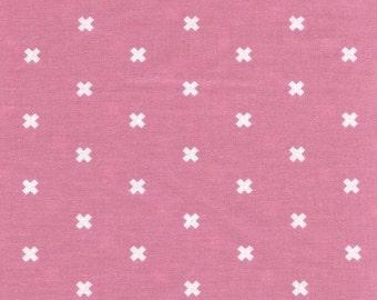 XOXO in Lilac, Cotton+Steel Basics, Rashida Coleman Hale, RJR Fabrics, 100% Cotton Fabric, 5001-010