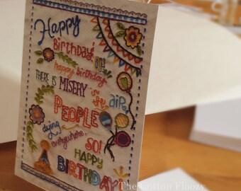 Subversive Birthday Card