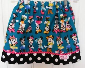 Fashionista  Skirt  (12 mos, 18 mos,24 mos,  2T,  3T, 4T, 5, 6, 7)