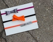 Set of 3 Halloween Headbands - Variety Pack - Nylon Headbands - One Size Fits All - Emma, Willow, Piper