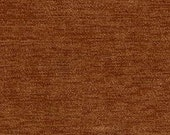 """Timeless Classic Chenille Upholstery Fabric - Durable - Washable - Soft hand - 56"""" wide - Polyester/Viscose - Color:  Copper - Per Yard"""