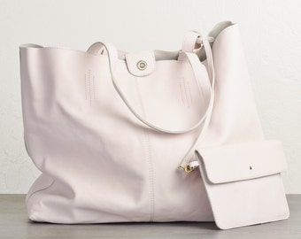 White leather bag   Etsy
