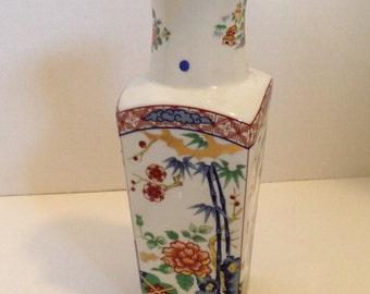 FREE SHIPPING USA & Canada - Vintage Imari Ware vase Japan Japanese imari vase Asian vase