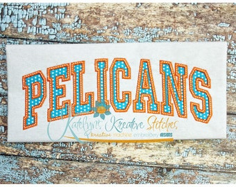 Pelicans Arched