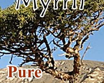 Organic MYRRH Essential Oil, 4 oz. size (Many sizes available!) Pure, Full Strength, Imported Direct from Distiller
