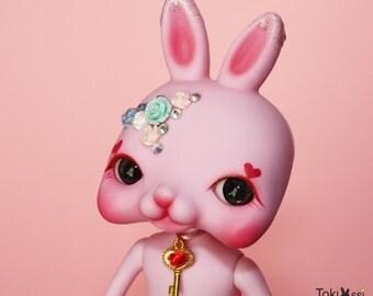 Tokissi / Tokissidoll / bunny / rabbit / sweet / pink / rose / heart / gift