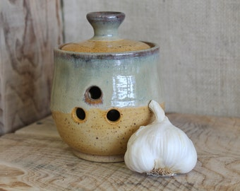 Goldenrod Garlic Keeper