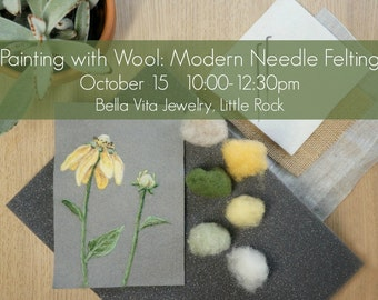 Workshop Registration: October 15 at Bella Vita Jewelry in Little Rock
