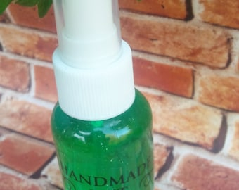 spearmint body spray, body spray, body mist, mist, beauty, spearmint, 2 oz
