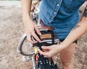 Bicycle tool roll - Dark brown & grey