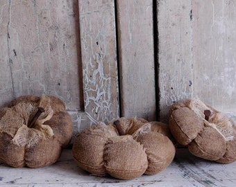Primitive Natural Pumpkin Bowl Fillers, Primitive Gourds, Fall Harvest Decor