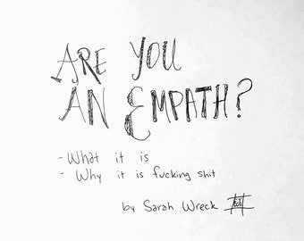Are You An Empath pamphlet PDF