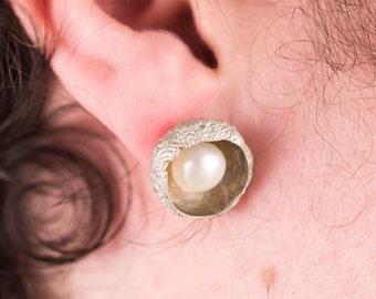 hay corn earrings