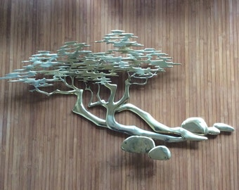 Bijan Sculpture - Bonsai Tree - Pebble Beach