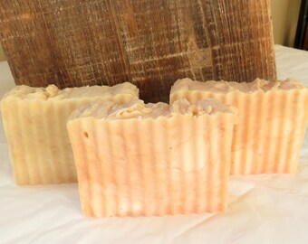 Pomegranate Apple Scented Luxury Hot Process Rustic Soap